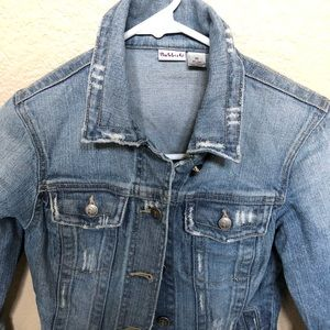 Rubbish Jackets & Coats - Distressed denim jacket